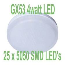 GX53 LED Light Bulb GX53 LEDS Under Unit LED Lamps TWIN PACK (WARM WHITE)