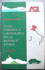 GUIDA TURISTICA E CARTOGRAFICA DELLE PROVINCIE D ITALIA Vol 2 Viaggi TCI Touring