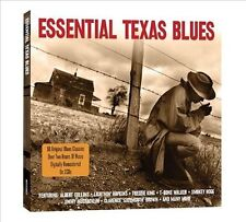 Essential Texas Blues [Not Now] by Various Artists (CD, Dec-2011, 2 Discs, Not N