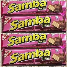 Samba Fresa Strawberry Savoy 4 unit 32 g each