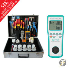 Kewtech EZYPAT Battery Operated PAT Tester with Business Kit PBK101 KIT4Z