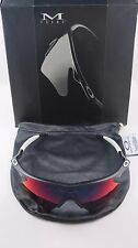Oakley Pro M Frame Matte Black Positive Red Iridium Heater+Original Box 06-940