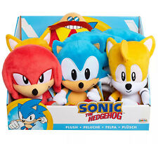 Sonic the Hedgehog, Tails, Knuckles, Eggman Robotnik JAKKS Plush Plushies (NEW)
