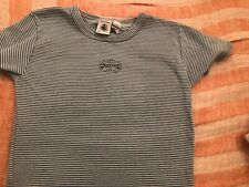 PETIT BATEAU Boy/'s White Logo Tee 76928 Sz 4 Years NEW $25
