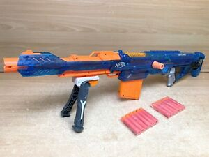 Nerf Mega Centurion Sonic Ice Blue Sniper Rifle N-Strike Blaster Gun