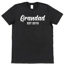 Personalised Grandad Est (Year) T-Shirt Custom Father's Day New Baby Grandchild