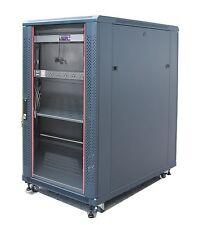 "18U   39"" Deep 19"" IT Free Standing Server Rack Cabinet Enclosure + Bonus Free"