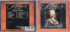 CD MARIANNE FAITHFULL LE MEILLEUR 12T DE 1996 MADE IN HOLLAND BEST OF