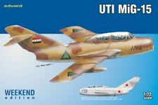 MiG-15 UTI (GAGARIN'S AIRCRAFT/SOVIET AF AND IRAQI AF MARKINGS)#7433 1/72 EDUARD
