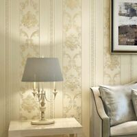 Wall Covering Textured Wallpapers Hotel Home Bedrooms Classic Striped Wallpaper