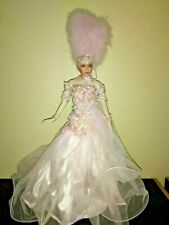 "Vegas Showgirl 18"" Collectible Porcelain doll Limited series by Rustie 1997"