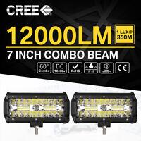 480W LED LUCE FARO 12V 24V LAMPADA DA LAVORO FARETTO AUTO BARCA CAMION KLW SU