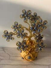 Decorative evil eye tree for good luck(golden)