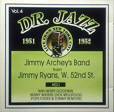 CD JIMMY banda de ARCHEY - no. 1, Dr. Jazz vol. 4