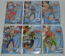 DC SUPER HERO GIRLS Supergirl, Batgirl, Wonder Woman, Harley, Bumblebee & P. Ivy