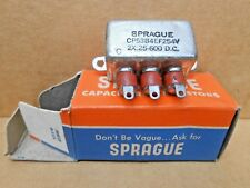 Vintage Sprague Bathtub Oil Capacitor  SP-CP53B4EF254V - NOS in original box