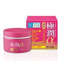 Rohto Hadalabo Gokujyun Alpha Anti-Aging Cream for firmer skin 50g Japan