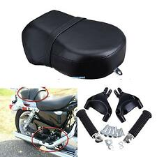 Rear Foot Peg Passenger Seat For Harley Sportster 883 883L 1200XL 07-13