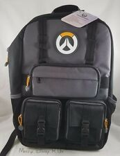 New Overwatch Logo Built-Up Tactical Backpack School Book Bag Laptop Sleeve