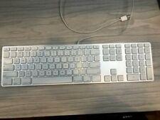 Apple Wired Slim Aluminum Keyboard w/ USB Ports