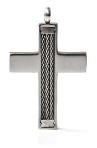 Massiver Edelstahl Kirche Christ Kreuz Anhänger Kettenanhänger SEHR MODISCH!