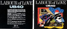 CD DIGIPACK 10 TITRES UB40 LABOUR OF LOVE DE 2013 TBE