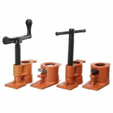 Heavy Duty Pipe Clamp 3/4 Inch Wood Gluing Steel Cast Iron Tool For Woodworking