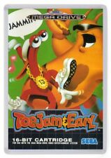 Toejam and Earl Fridge Magnet. Box Art. Megadrive