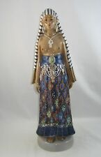 "Royal Copenhagen Dahl Jensen Porcelain Figurine ""EGYPTIAN WOMAN"" 1123"