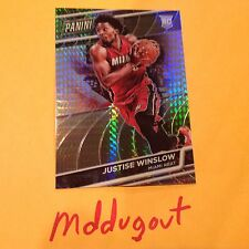 JUSTISE WINSLOW RC #25 HEAT 2016 Panini National VIP Gold Prizm Ref only 99 Made