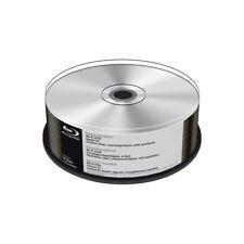 Blu-ray BD-R SL 25GB 6x MediaRange Thermo Printable Silver Tarrina 25 uds