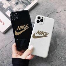 Nike Designer Apple iPhone 11 Case Black, Gold, White Bronzing iPhone Cases