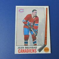 JEAN BELIVEAU  1969-70 O-Pee-Chee OPC  # 10  Montreal Canadiens 1970 69 70 NR/MT