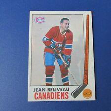 JEAN BELIVEAU  1969-70 O-Pee-Chee OPC  # 10  Montreal Canadiens 1970 69 70 NR/MT