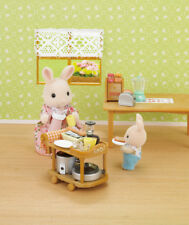 Sylvanian Families NEW Kitchen Cookware Set  + FREE SF BOOKLET