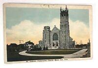 Vintage Postcard St. Andrews Presbyterian Church Moose Jaw Saskatchewan Canada
