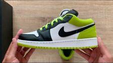 Nike Air Jordan 1 Low SE (GS) CT1564-003 Black/Black-Cyber-white YOUTH Boys/Girl