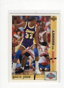 1991/92 Upper Deck Michael Jordan vs Magic Johnson Classic Confrontation NR-MT