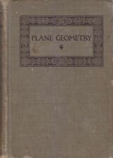 PLANE GEOMETRY di George Wentworth - Ginn editore 1913
