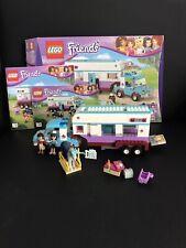 LEGO Friends 41125 Pferdeanhänger mit Tierä OVP inkl. Anleitung 100% Kompl