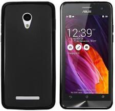 Étuis, housses et coques noirs brillants pour téléphone mobile et assistant personnel (PDA) ASUS