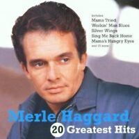 MERLE HAGGARD - 20 GREATEST HITS  CD 10 TRACKS COUNTRY/HONKYTONK BEST OF NEU