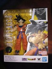 New SH Figuarts Goku (A Saiyan Raised On Earth) w/Free Yellow Energy Aura Effect