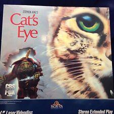 Cat's Eye: Stephen King (1985) [4731-80] Laserdisc