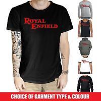 Royal Enfield T-Shirt - British Motorcycles Cafe Racer Biker Indian Norton BSA