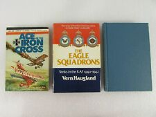 Lot of 3 World War Aviation Books: Ace Of The Iron Cross,Eagle Squadrons,Tigers