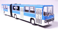 H0 BREKINA Bus Ikarus 280.02 Gelenkbus Stadtbus Überlandbus blau weiß # 59702