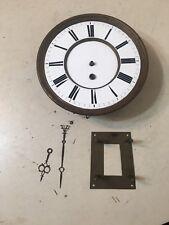 Vintage Vienna Regulator 1 Weight Clock Movement Dial Hands Parts