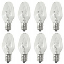 Sansai 8pk 7W/240V E12 Replacement Bulb Clear for Night Light DB-458/DB-459