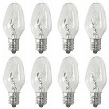 Sansai 8pk 7W/240V E12 Replacement Bulb Clear for Night Light DB-458/DB-459